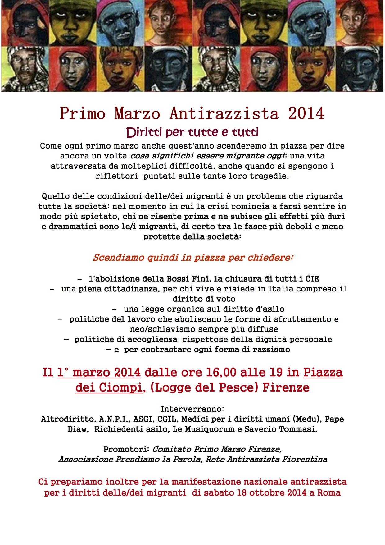 Primo Marzo 2014 Firenze 1 1